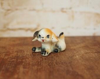 Little Kitsch Porcelain Puppy