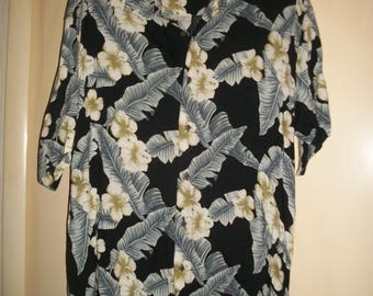 Men's Vintage 90's Hawaiian Shirt Size 2XL