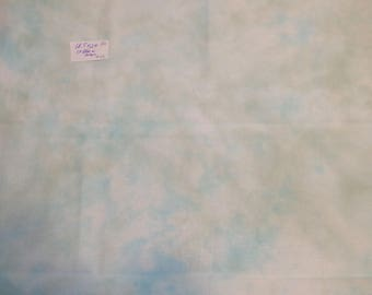 Hand Dyed Cross Stitch Fabric 28ct Monaco   Blue and Green   #43