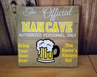 Man Cave Wall Decor man cave wall art | etsy