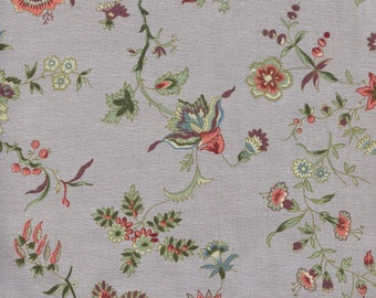 Cotton Chintz - Dutch Heritage 2032 Lavender - Company Dutch Den Haan And Wagenmakers - by 50cm (110 x)