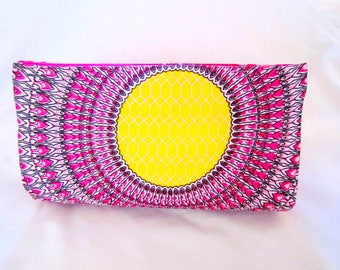 Boho Style Clutch, Hot Pink Purses, Floral Clutches, Colorful Clutch Purse, Fashion Clutch, Trendy Clutch, Casual Clutch, Boho Chic Clutches