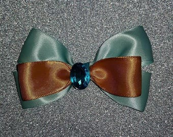 Disney Princess Jasmine inspired hair bow