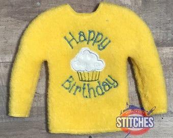 Birthday Elf Sweater