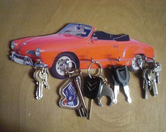 key wall vw karmann ghia / key hook