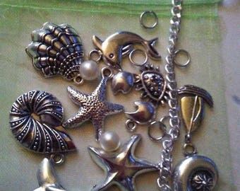 DIY Ocean Charm Bracelet