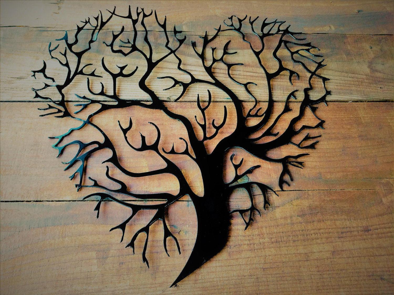 Metal Tree Of Life, Metal Tree, Tree Wall Art, Tree Wall Decor ...