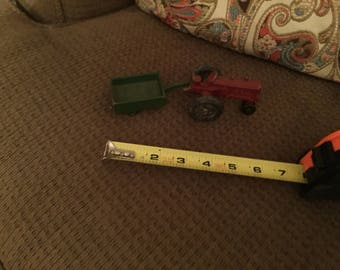 Cast Iron Tractor and Trailer (Free Shipping)