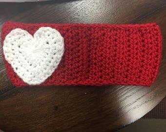 Headband with heart