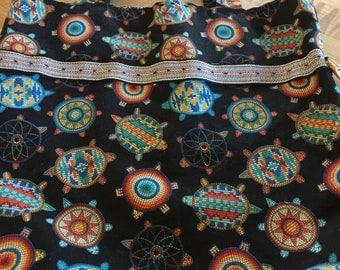 Turtle Design Fabric Bag/Tote