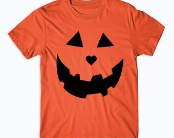 Halloween Shirts, Women's Halloween Shirts, Jack O Lantern, Pumpkin Face, Halloween Sweatshirt, Halloween Shirts for Men Costume #HAH1