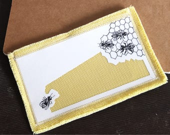 The yellow bee wallet