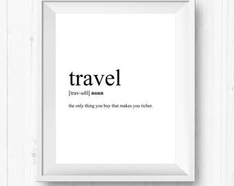Wall Decor Travelling Printable Travelling Prints Travelling Sign Travelling Travel Art Travelling Travel Print Travelling Printable Art