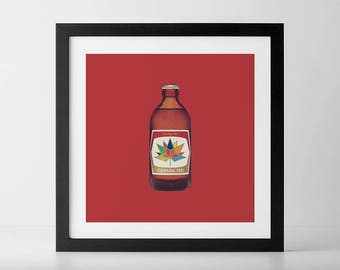 Canada 150 Stubby Beer Bottle
