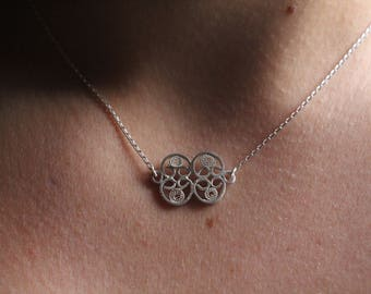 """""""Classical Baroque curb chain"""" necklace"""
