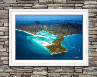 Above Hill Inlet, limited edition, archive quality, beach, photographic print, by Michelle Andrews