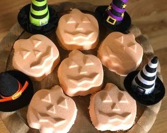 Halloween Bath Bomb - Honey Vanilla Pumpkin