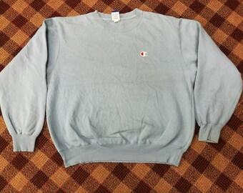 vintage champion sweatshirt small logo