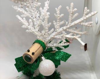 Reindeer cork ornament