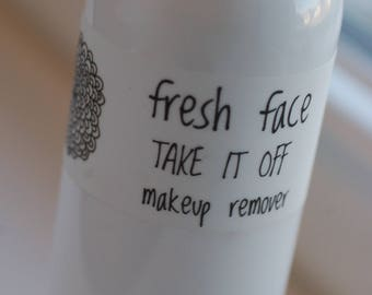 fresh face TAKE IT OFF make up remover 4oz all natural