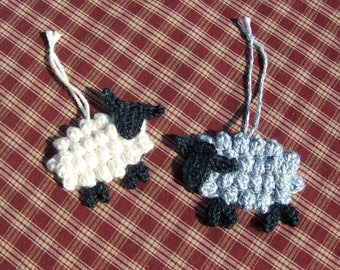 Sheep Ornaments - 2 color options