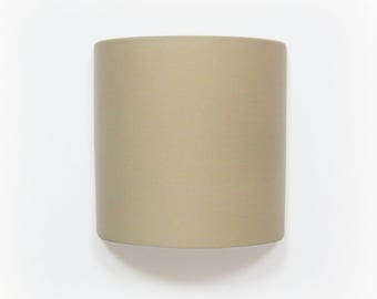 Applique wall beige plain semicircle