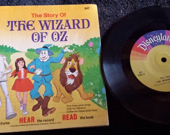 The Story of The Wizard of Oz book and record 1978