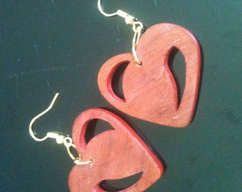 """""""all you need is love"""" wood veneer jewelry collection"""