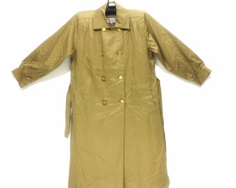 YVES Saint LAURENT YSL Diffusion Femme Made In Japan Trench Parka Jacket Coat