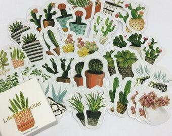 Cactus Sticker Flakes