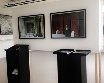 Plinths/speakers podiums