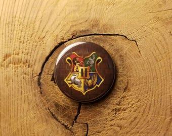 "Hogwarts (1-1/4"" Pinback Button)"