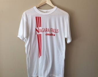 Vintage Niagara Falls Canada T Shirt