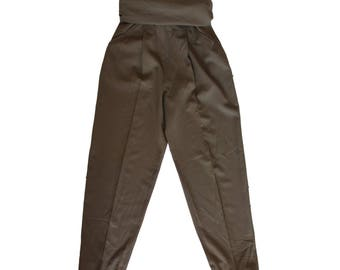 Max Mara pants women's 100% wool size 42 green trousers