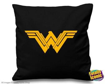 Wonder Woman - Pillow Cushion Cover - Comic Book Hero Inspired-Diana Princess of the Amazons-Gal Gadot-