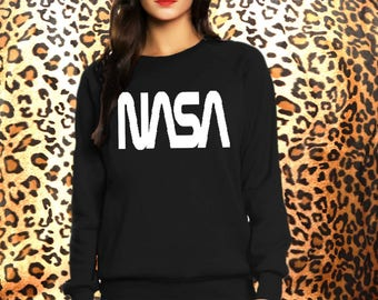 NASA- sweatshirt eco cotton blend funny