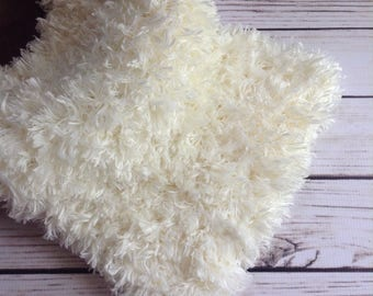 White Fur Rug, White Faux Fur, Fur Layer, Fuzzy Layer, Layer Prop