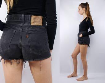 Levis Shorts / Levis High Waist / Levis Vintage Shorts / Levis 501 / Levis Shorts Grey / Levis Retro Shorts / Levis / Vintage Shorts