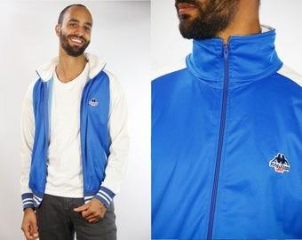 KAPPA Shell Jacket / Vintage Kappa Jacket / Kappa Windbreaker / Kappa Jacket / Kappa Track Jacket / Vintage Kappa / Robe Di Kappa / Blue