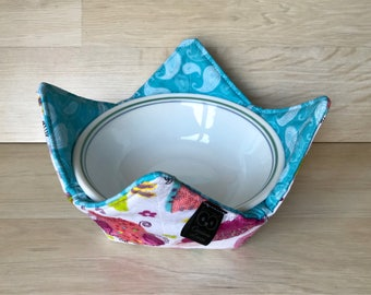 Fabric soup bowl