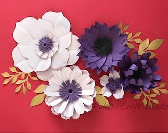 Paper flowers/ paper flower backdrop/wedding decoration/ home decor/ nursery decoration/ wedding flowers/ bridal shower/ baby shower
