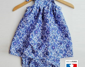 All baby dress + bloomer liberty Betsy Lavender
