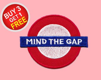 Mind Gap Patches Iron On Embroidered Patches Embroidered Applique