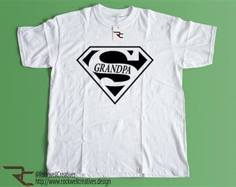 Super Grandpa Shirt with Free Shipping