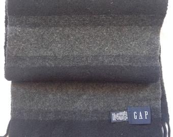 GAP Italian Made 100% Wool Scarf