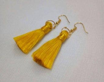 Jewellery, Earrings, Drop Earrings, Thread Earrings, Tassel Earrings, Dangle Earrings, Handmade Earrings, Long Tassel Earrings, Earring