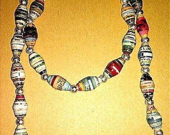 Handmade Stretchy Necklace