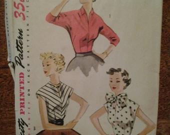 Vintage Simplicity Pattern 4180  1950's