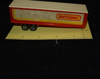 1979 Matchbox Superfast Articulated Trailer ONLY,  Lesney Co   FamilyBlessingCo