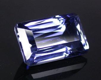 8.3 ctw. blue sapphire loose gemstone.